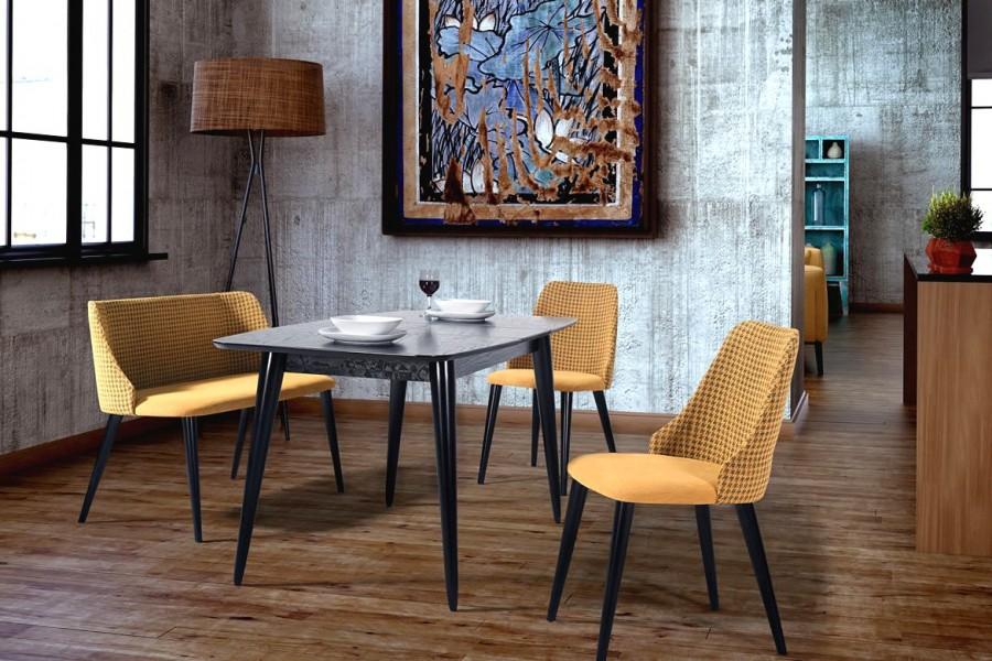 2043 MADRID yemek masa+sandalye